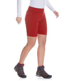 Tatonka Lajus Shorts Dames, lava red